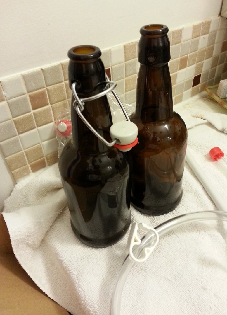 Home Brew Bottles