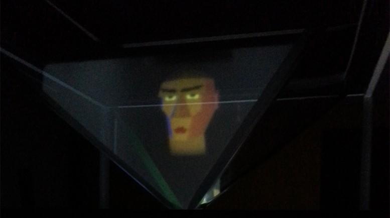 Fortune Teller Hologram Head